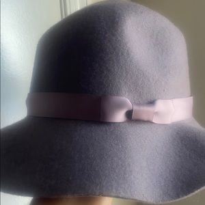 100% wool hat- taupe color